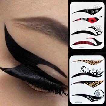 Eye Liner Tattoos 50bags  Eye Shadow Sticker Makeup eyeliner Free Shipping Beauty