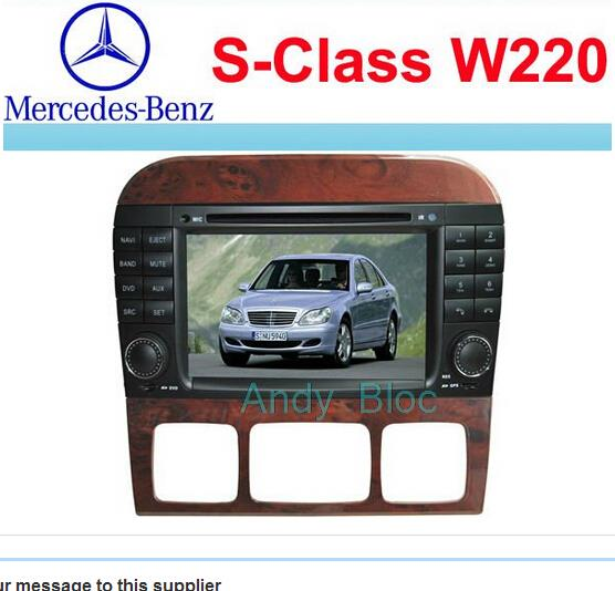 China manufacturer double din car dvd FOR MERCEDES-BENZ S CLASS AL-9319(China (Mainland))