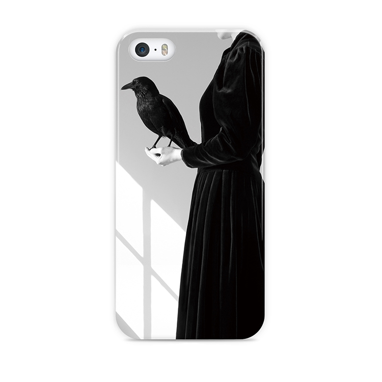 Hot Sale Loverly White Black Bird Silica Gel case Cover for iphone6 4.7inch Protective Cover For iphone 6 6s Case