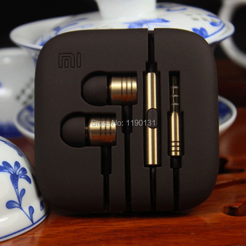 Xiaomi Bass Earphone Headphone Headset with Remote And Mic High Quality For IPHONE XIAOMI M2 For Samsung Galaxy S3 S4 Note 3 MP3