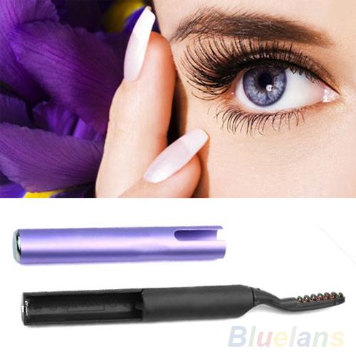 Portátil Pen estilo aquecida elétrica Eye Makeup Lashes cílios de longa duração Curler 2DYV