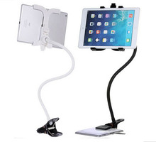 Universal 360 degree Flexible Arm Tablet PC holder stand Lazy People Bed Desktop tablet Bracket for iPad Samsung Table PC