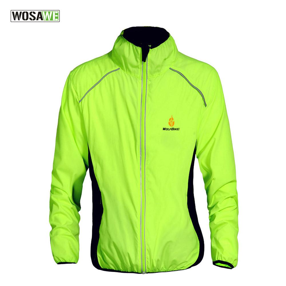 WOLFBIKE Tour de France Cycling Coat Wind Rain Coat Long Sleeve Jersey Profession Windbreak Shirts Jacket Bicycle Bike Wear