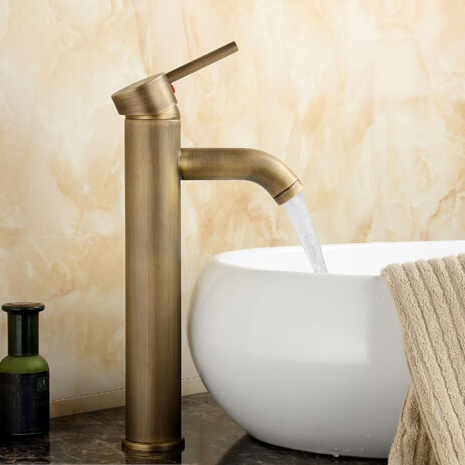 Single Handle Antique Brass Centerset Kitchen Faucet - Wholesale - Free Shipping  H-6620