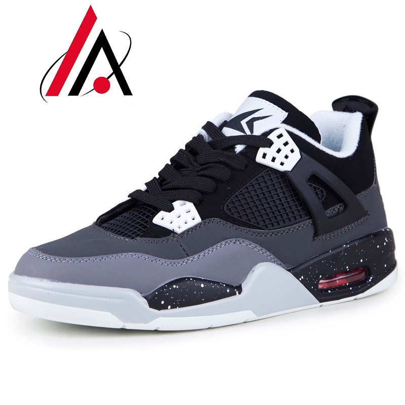 Hot sale basketball shoes authentic retro jordan 4 shoes sport shoes men comfortable trainers breathable zapatillas hombre(China (Mainland))