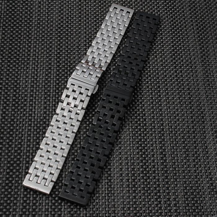 20 мм 22 мм Черный Новых Людей Black Metal Band Смотреть Браслеты Из Нержавеющей Стали Для Смарт-Часы Samsung Gear S2 Classic