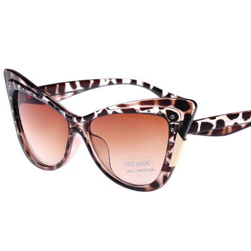 Cat Eye Sunglasses Women Sexy shades Optical Glasses Fashion Glasses Female UV 400 2015 new TOP