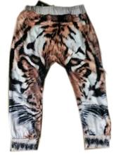 1pc 3D Digital Tiger Printed Baby Harem Pants 2015 New baby Boy Girl Kids Children Trousers baby Girls Boys Pants  Free shipping(China (Mainland))