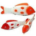 3pcs lot New run electric toy music light fish shake the head and wag electric fish