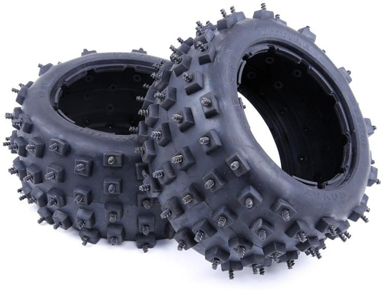 ROVAN Wasteland Nail Tires Wasteland Spike Fetal Skin Rear Wheel Snow FOR HPI KM BAJA 5B RC Car Part Wholesale retail