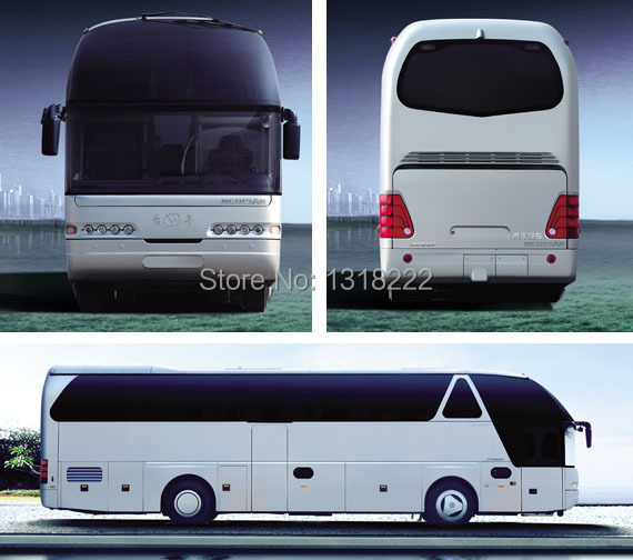 1:43 Germany NEOPLAN bus model Young man metal bus toy personal collection by DHL/EMS shipping(China (Mainland))