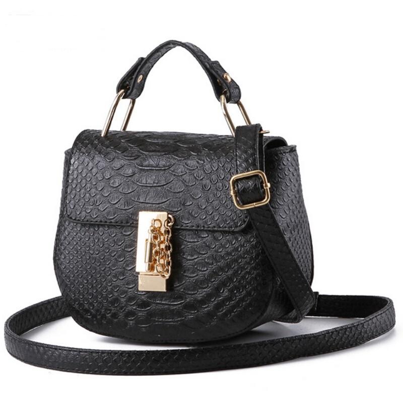 Women Leather Handbags Purses Shoulder Crossbody Bags For Woman 2016 New Fashion Small Ladies Hand Bags Bolsos Carteras Mujer(China (Mainland))