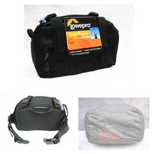 100% Lowepro Photo Runner Convertible Beltpack/Shoulder Camera Bag & Rainproof Cover for Canon Nikon Sony