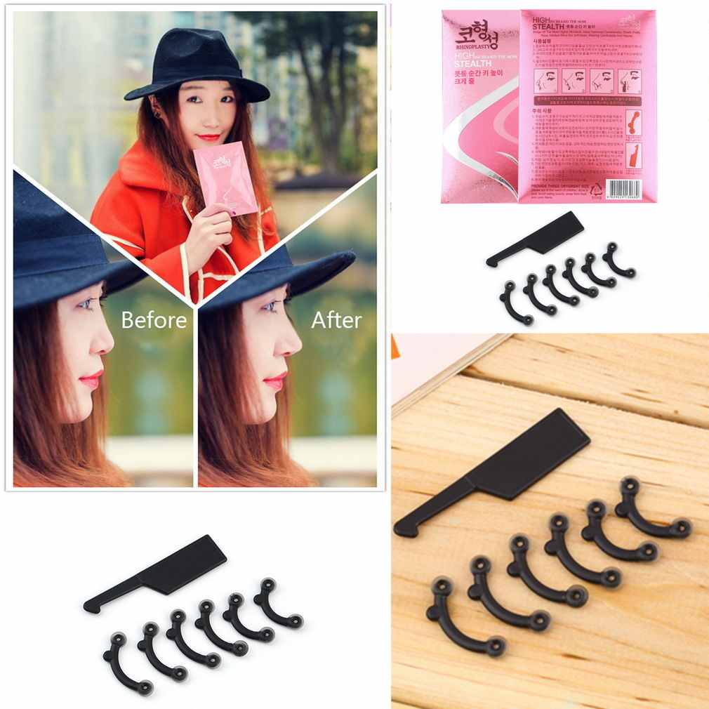 3in1 3 Size Secret Nose Up Lifting Shaping Clip Clipper Shaper Beauty Tool Set