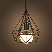 NEW Vintage Iron Pendant Light Industrial Loft Retro Droplight Bar Cafe Bedroom Restaurant American Country Style Hanging Lamp(China (Mainland))