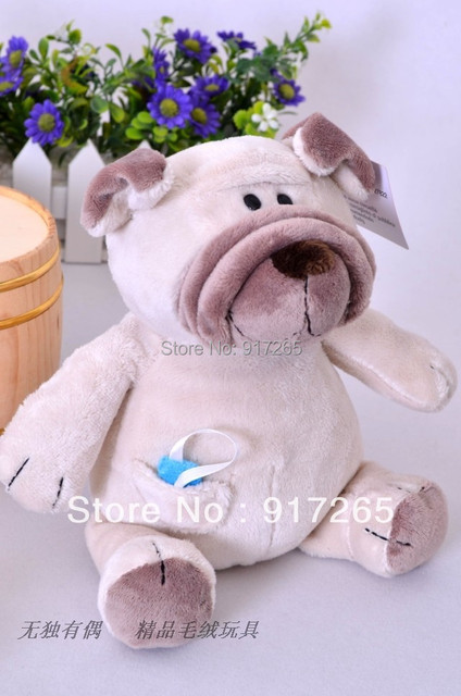 Free Shipping NICI Plush Toys 35cm NICI DOG Doll The Best Christmas Gift To The Children