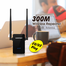 300Mbps wifi extneder COMFAST Wireless-N Wifi Repeater CF-WR302S 802.11n/b/g Network Wi Fi Routers Signal Booster Expander Ap(China (Mainland))