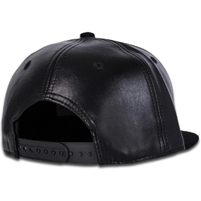 LDSLYJR 2017 leather geometric Adjustable embroidery baseball cap hip-hop cap sports hat snapback cap for women men 109