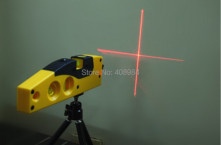cross line laser levels measuring tool with tripod rotary. Black Bedroom Furniture Sets. Home Design Ideas
