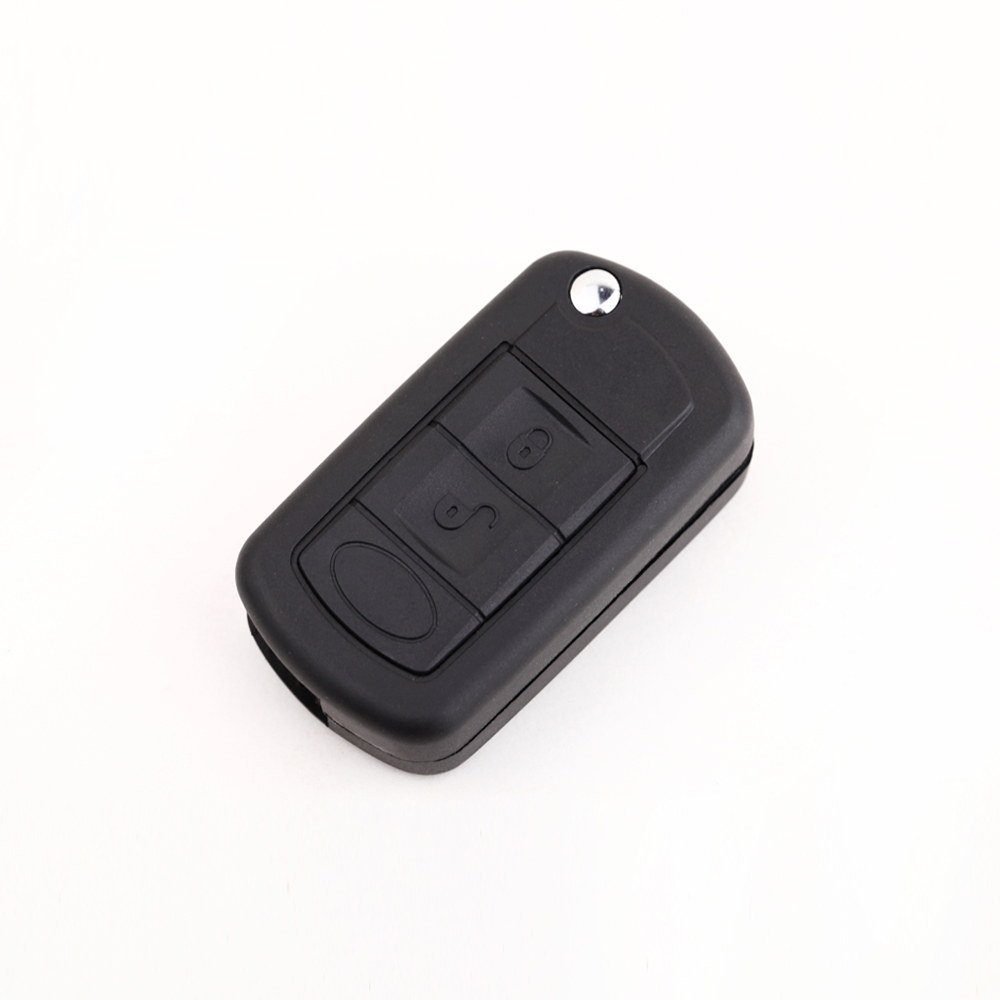 3 Button Flip Fob Remote Folding Car Key Shell Case for Range Rover Sport Land Rover Discovery Uncut Blade Car Cover(China (Mainland))