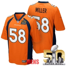 100% Stitiched,Denver s,Von Miller for mens and womens,youth,camouflage(China (Mainland))