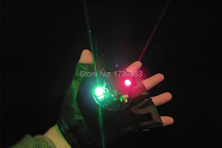 Laser vortex gloves--slong light (20)