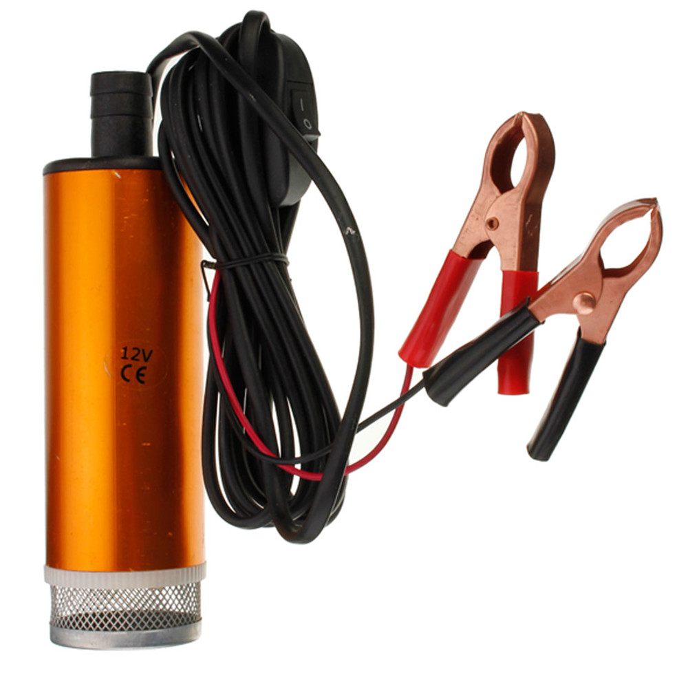 12V Car Truck Diesel Fuel Water Oil Submersible Pump With Switch(China (Mainland))