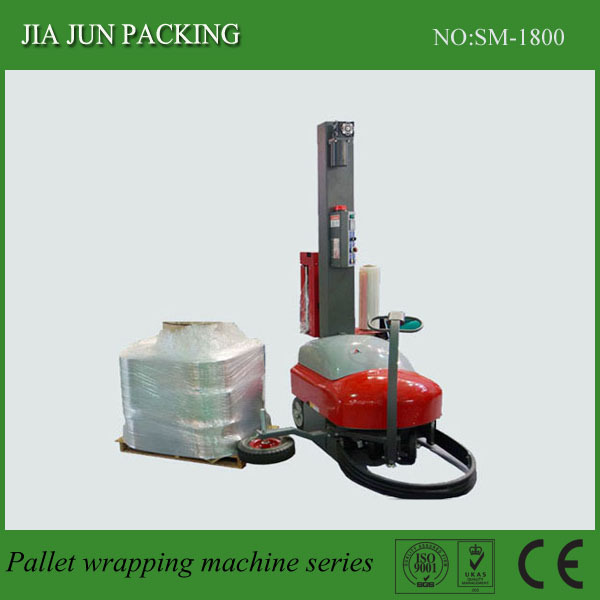 Automatic winding machine automatic packaging machine to go film wrapping machine and large objects coated machine(China (Mainland))