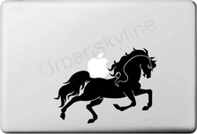 Buy Running Horse Decal apple macbook Sticker air 11 12 13 pro 13 15 17 retina Pegatinas Laptop Wall Car Sticker Vinyl Skin for $5.20 in AliExpress store