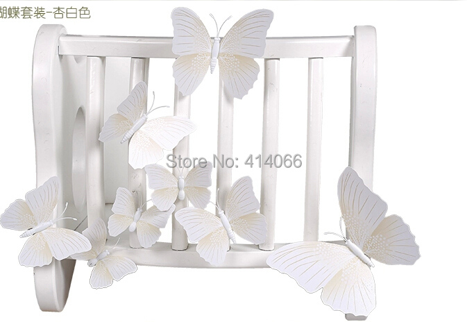 White Butterfly Wall Decor Target : Aliexpress buy new pcs lot vinyl d white