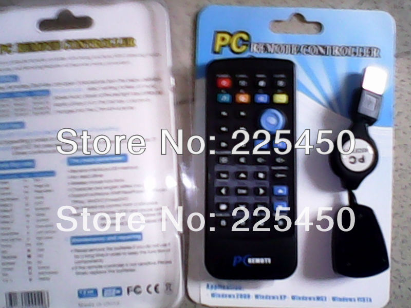 PC remote factory manufacture PC remote for PC/ laptopset applicated to windows 2000, windows XP, wiindows vista,linux
