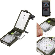 Multifunction 10 in 1 Outdoor Military Camping Survival Tool Compass Kit  HS