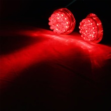 Waterproof  Motorcycle 24 LED Turn Signal Light Chrome Brake Tail Light/lamp For Harley red color (China (Mainland))