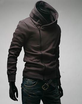 Hot Sale Men's Fashion Sports Hoodies Sweatshirts High Collar Coat,Top Brand Men's Jackets MF-003
