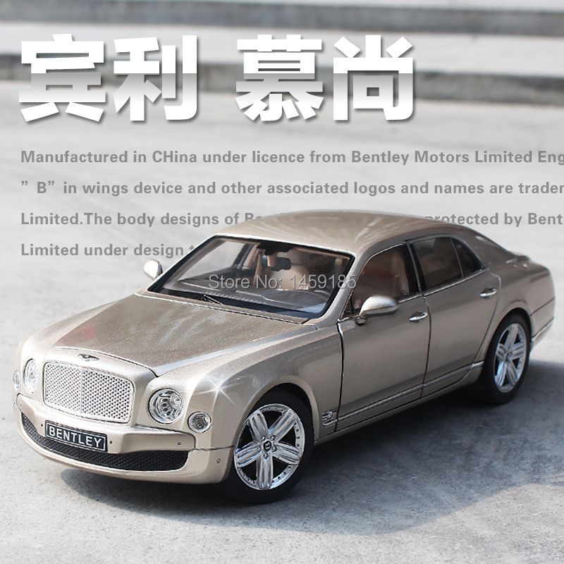 1:18 Mulsanne Diecast Alloy Model Car Mini Metal Toys Boys Kids Gift Presentation Box Set - Team Global Trading Company store