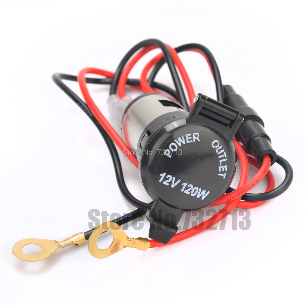 Dc 12v 120w waterproof power car auto motor motorcycle for Waterproof dc motor 12v