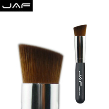 Retail flat shader foundation brush taklon hair makeup brush contour brush 16SBYA