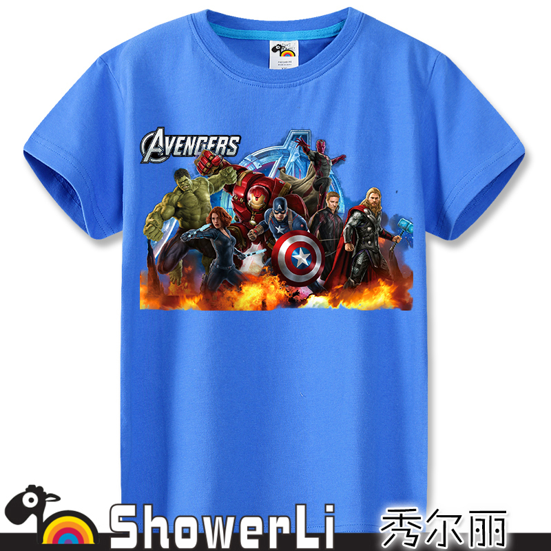 wear avengers2 ultron blue clothes hulk iron man thor captain american