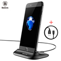 Baseus Desktop Docking Charging Cell Phone Cradle Sync Data Charger Dock Stand Station USB Cable For