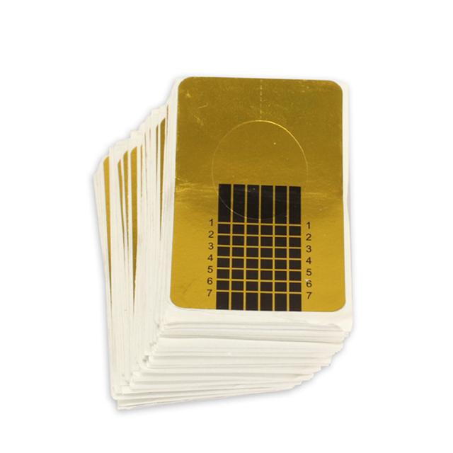 100 PCS Nails Gel Extension Sticker