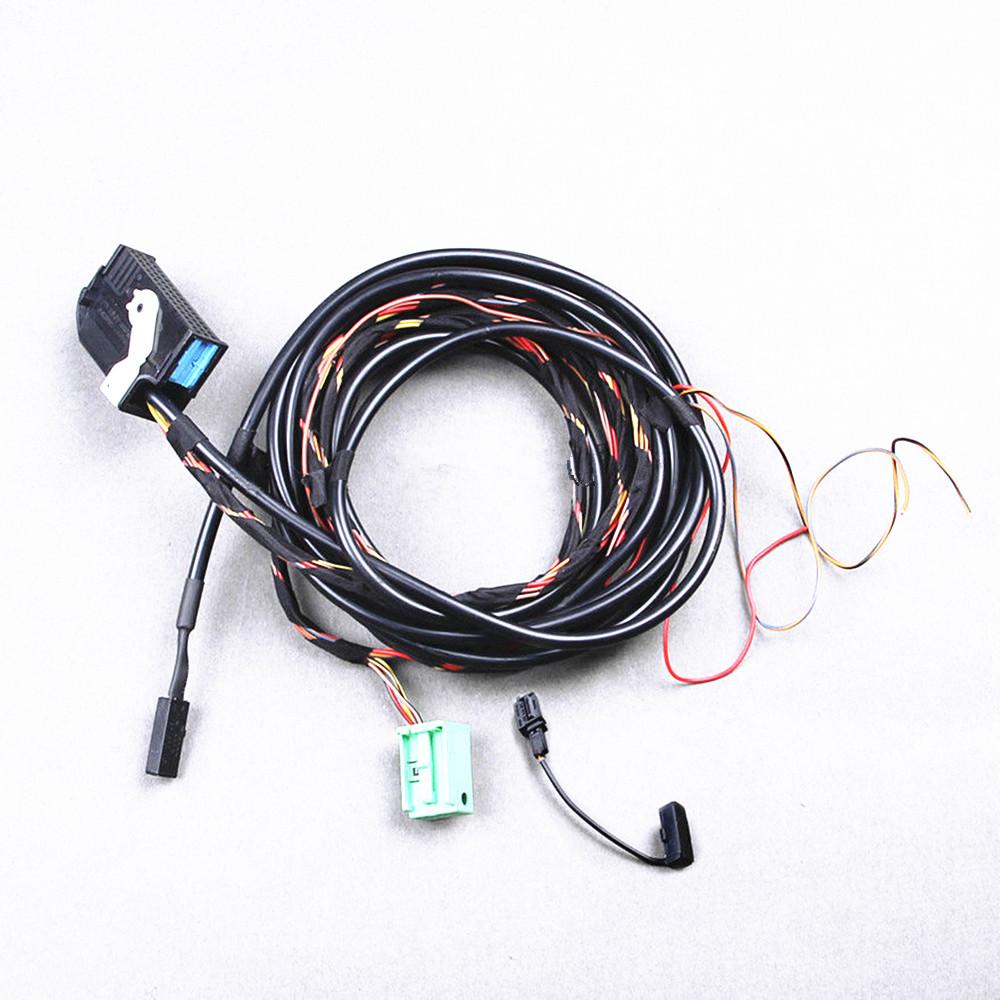 VW RCD510 RNS510 9W2 9W7 Bluetooth Microphone Cables Plug For VW Golf MK6 Jetta MK5 Passat B6 Scirocco Tiguan Touran CC Eos Polo(China (Mainland))