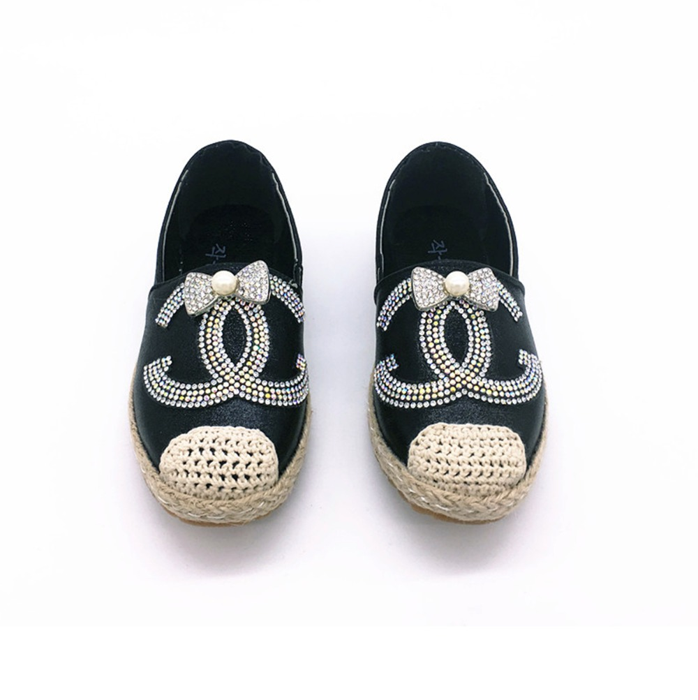 Princess Rhinestone colorful Girls Shoes Big Brand PU Leather Kids Shoes For Girl Casual Slip On Flats Children Shoes Girls(China (Mainland))