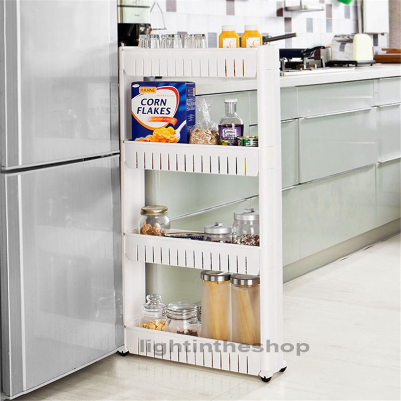 Movable Cabinet Pull Out Kitchen Cabinet Movable Cabinets: Ã�(^ ^)ノMovable Kitchen Storage Š� Rack Rack Slide Out