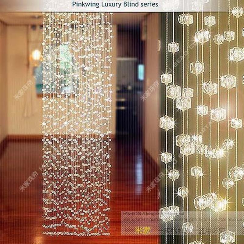 En plastique perles rideau promotion achetez des en for Autrefois home decoration rideaux