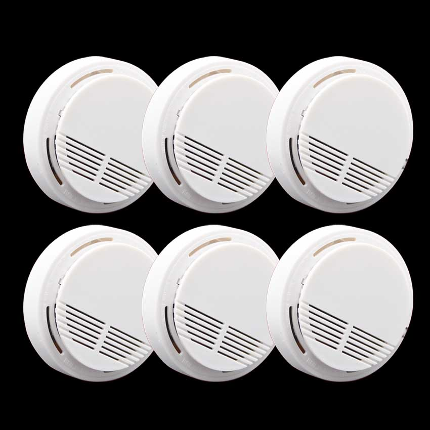 High Sensitivity Stable Photoelectric Smoke Alarm Fire Smoke Detector Sensor Home Security System for Home Freeshipping(China (Mainland))