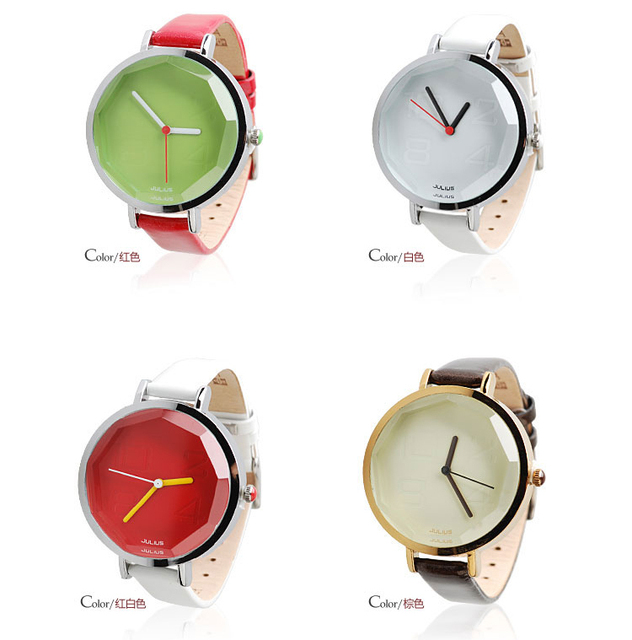 Hot sale Julius ladies watches women dress cartoon watch Leather strap christmas gift utdoor hour
