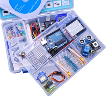 Upgraded Advanced Version Starter Kit the RFID learn Suite Kit LCD 1602 for Arduino UNO R3 With Tutorial(China (Mainland))
