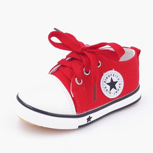 Plus Size Children sneakers boots kids canvas shoes girls boys casual shoes mother best choice baby shoes canvas special sale(China (Mainland))