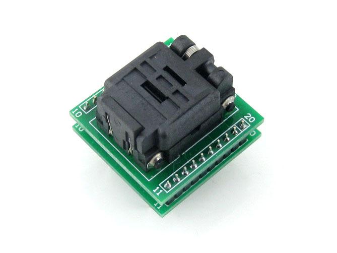 Фотография QFN20 TO DIP20 Adapter MLF20 MLF20 MLP20 Plastronics 20QN50S14040 QFN IC Programming Adapter Test Burn-in Socket  0.5 Pitch