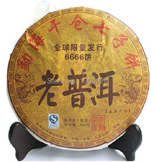 Гаджет  10 year old Top grade Chinese yunnan original Puer Tea 357g health care tea ripe pu er puerh tea Pu